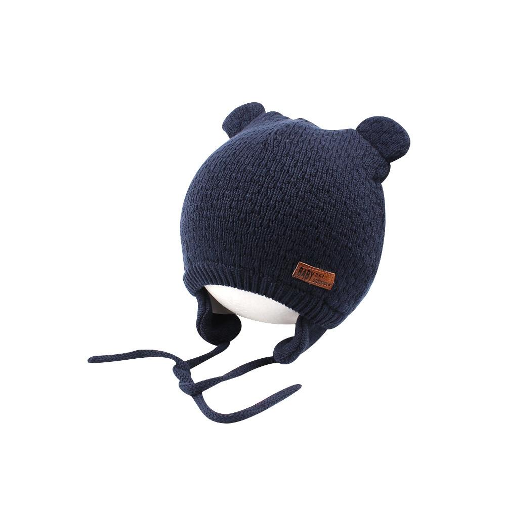 Aliexpress.com: Comprar Gorro de bebé de punto cálido oso lindo ...