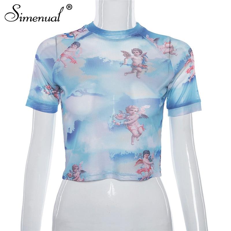 6ed631876 Fahsion Turtleneck Long Sleeve Bodysuit Sexy Cupid Print 2019 New Summer  Women Slim Casual Romper Jumpsuits