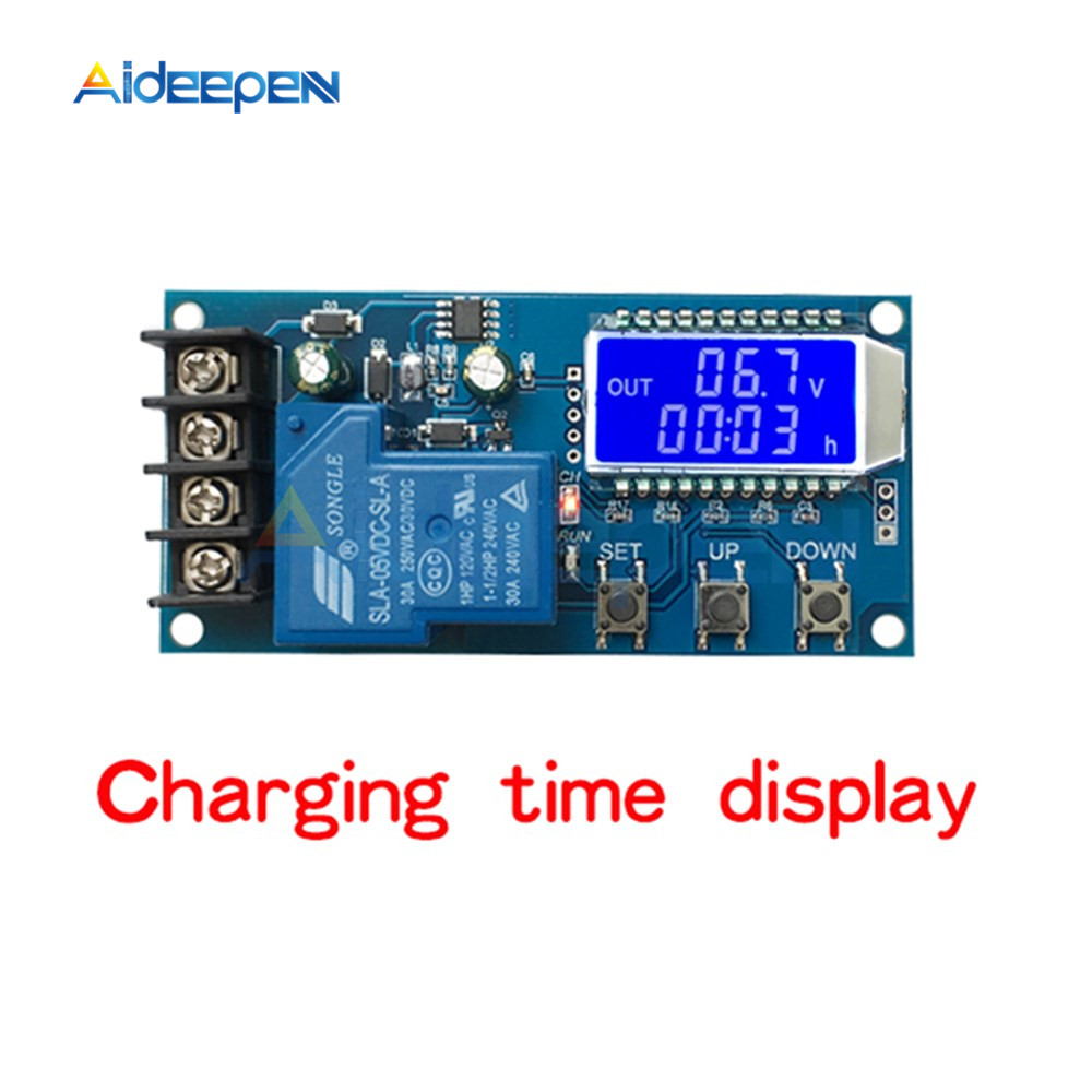 Image 4 - XY L30A NC Battery Charging Control Module Digital Full Power Off Overcharge Protection Switch 6 60 V with LCD Display-in Instrument Parts & Accessories from Tools