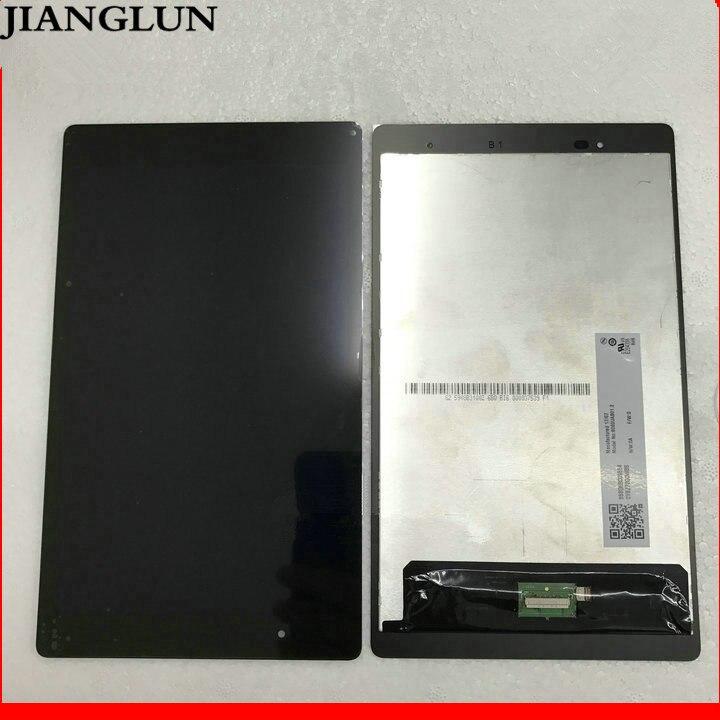 JIANGLUN For Lenovo Tab3 8 Plus Tab3-8703N Tab3-8703F  LCD Display + Touch Screen Digitizer Glass Assembly black new 7 inch for lenovo tab 3 essential 710f tab3 tb3 710f tab3 710f touch screen digitizer lcd display sensor replacement