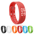 Smart Wristband Wrist Bracelet Watch With Passometer Sleep Tracker Calorie Tracing Sports Data Memory Temperature Display