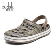 Men Sandals Hole Shoes Male crocse Clogs Sandalias zapatos de hombre croc Shoes