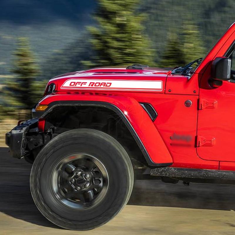Jeep Wrangler Unlimited 2-4 Door Mountain Splash Graphics Stripes Decals