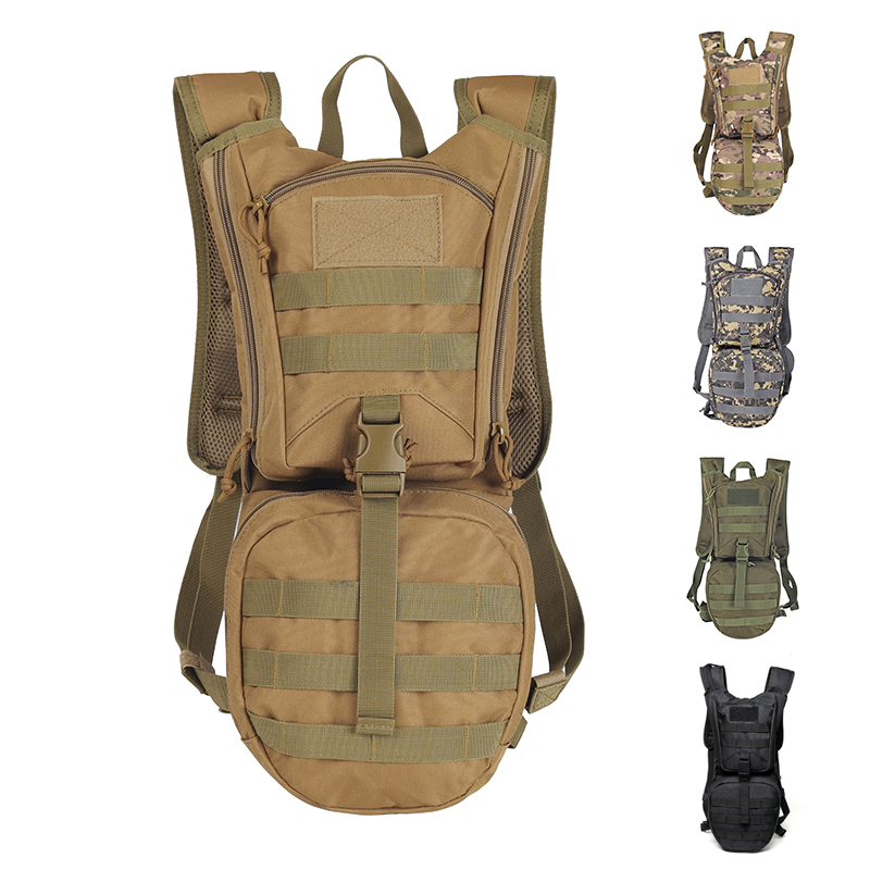 3L Molle Military Tactical Hydrator Backpack,Army Camping Hydration Bladder Bag For Hiking Outdoor Backpack,no Water Bag car seat