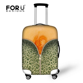 FORUDESIGNS 2016 Tasteful Fruit Handkoffer Gespanntee, Resilient  Wearproof  Protective  Travel Luggage Cover, Trolly Bag