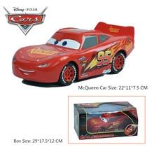 2017 Disney Pixar Mobil Keringanan Mcqueen Jackson Badai Cruz Hadiah Natal 22 cm Tarik Kembali Carros Mobil Mainan Untuk Anak-anak