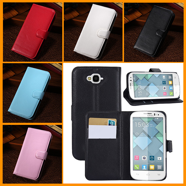 1pcs luxury wallet leather Case...
