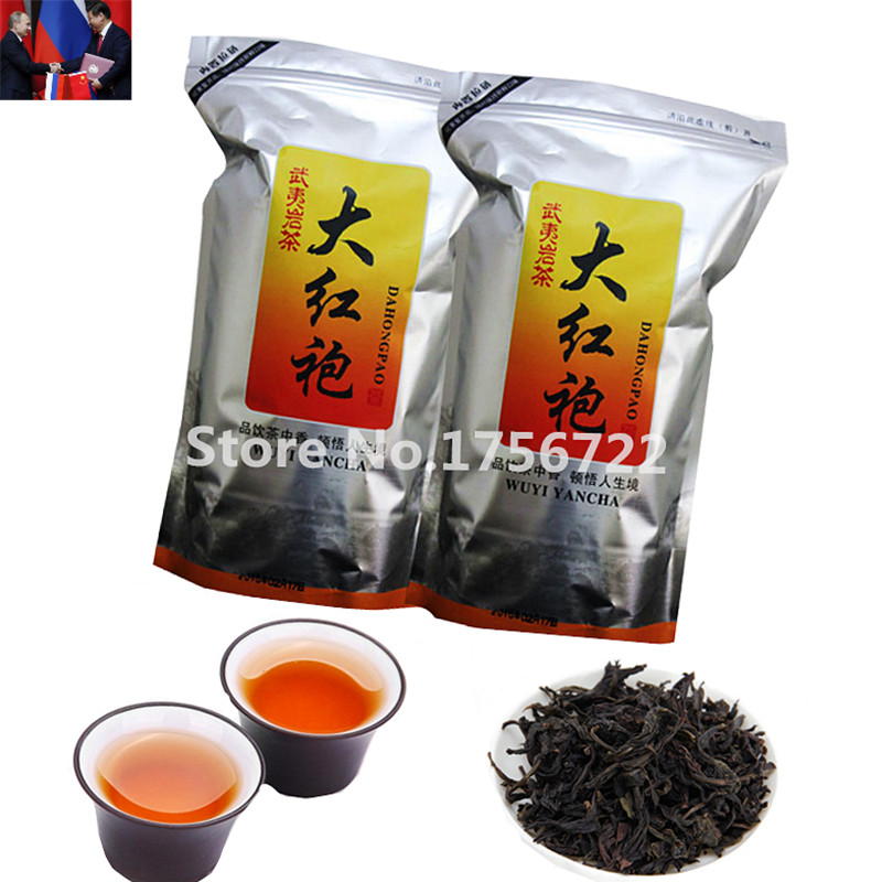 500G Chinese tea Wuyi da hong pao Big red robe oolong 2016 aaaaa Yan Cha Cliff Tea green health care food Dahongpao