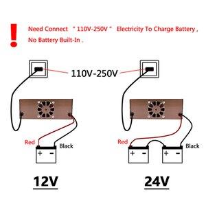 Image 5 - Große Power 12V 24V Intelligente Batterie Ladegerät für Automotive Motorrad Boot Gabelstapler Lkw Blei Säure Wartung freie Batterien