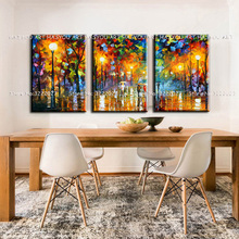 HASYOU ART hand painted oil painting modern paintings on canvas abstract Knife View pop art cheap