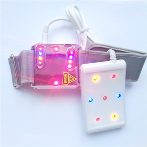 Image 5 - 당뇨병 치료기구 3 색 레이저 시계 치료 고혈압 고혈당 콜드 레이저 건강 관리
