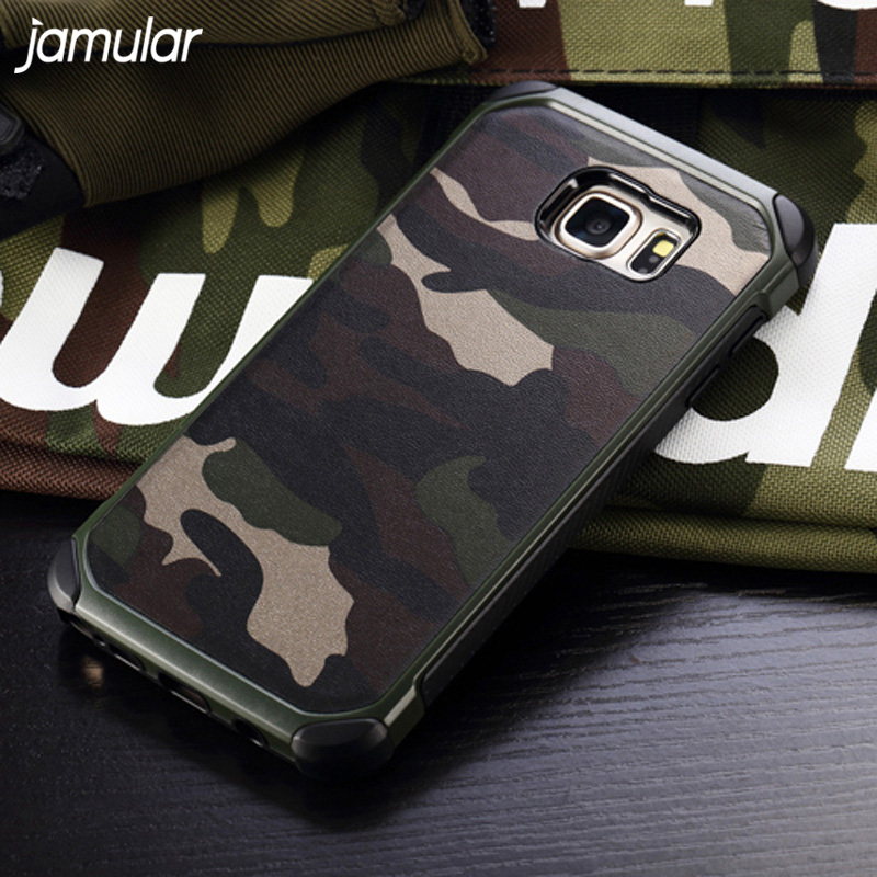 JAMULAR Military Camouflage Case For Samsung Galaxy S8