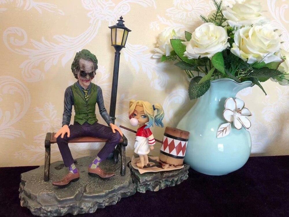 DC Comics juguetes Suicide Squad Harley Quinn & Joker juguete Harley Quinn acción figura PVC figura decoración Home Colección modelo juguete
