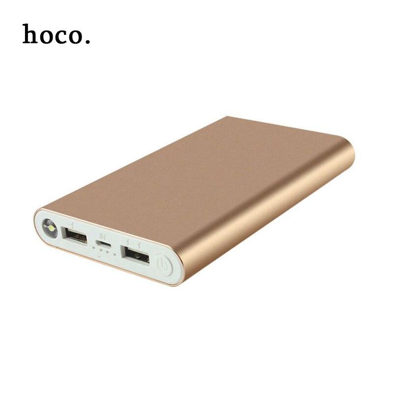 imágenes para Hoco Nuevo metal Cargador Móvil Portable 8000 mAh Banco de la Energía de Batería Externa para el iphone Samsung y Otros Teléfonos Envío Rápido