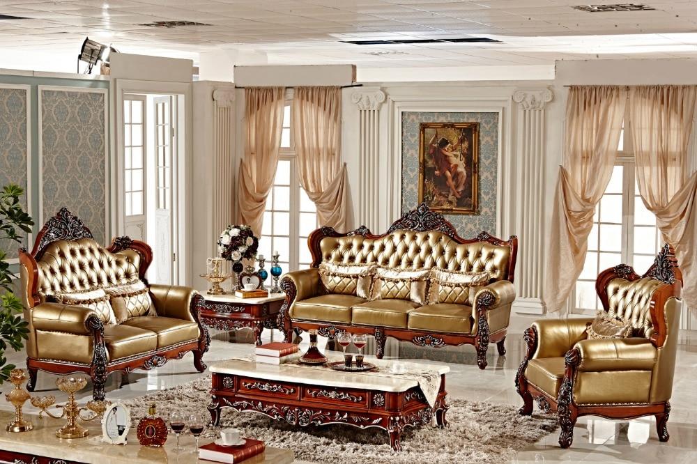 Luxus Pu Leder Sofa 3 2 1 Sitzer Sofa F101 In Luxus Pu Leder