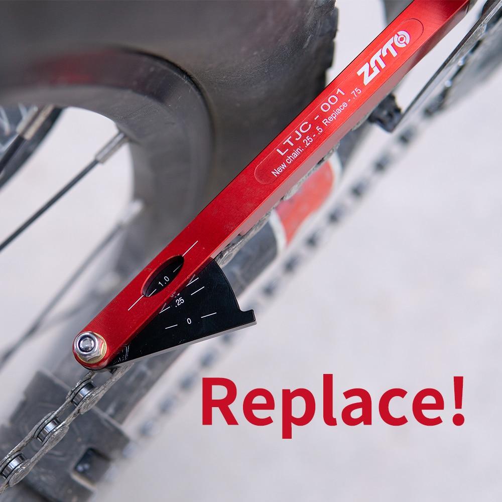 Bicycle Chain Wear Indicator Tool