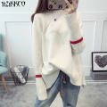 YiZiKKCO Brand Woman Sweaters Pullovers 2016 New Autumn Winter Knitted Sweater Womens Pullover Pull Femme Sweter Mujer WHD290
