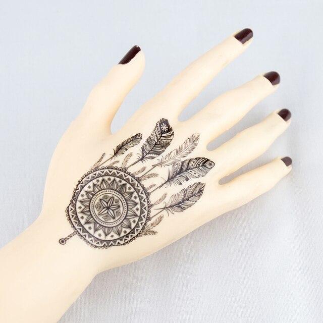 Dream Tatouage faux tatouage body art noir henné mehndi mehendi pâte indian dream