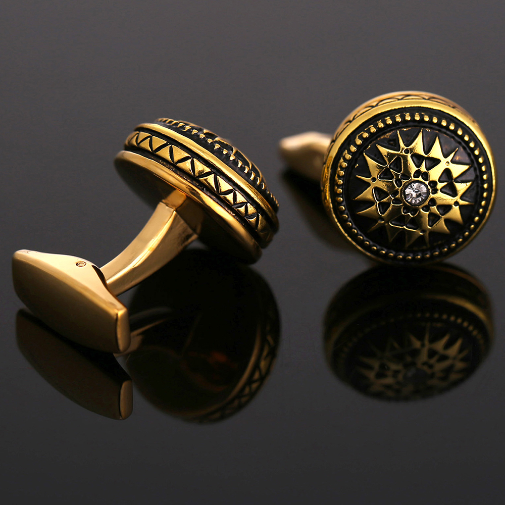 Jewelry & Accessories Vagula New Cuff Links Wholesale French Shirt Cufflinks Crown Style Gemelos Gift 329 Complete In Specifications Jewelry Sets & More