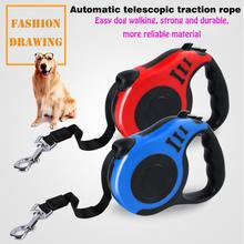 Retractable Dog Leash Automatic Puppy Rope Pet Running Walking Extending Lead For Small Medium Dogs Products3M/5m