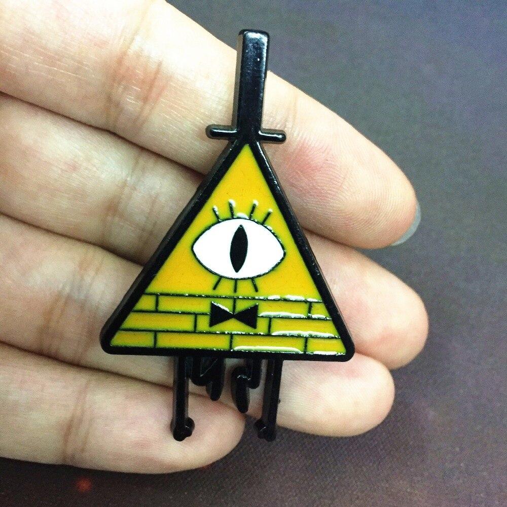 Gravity Falls Waddles Badge Enamel Pin Chestpin Brooches