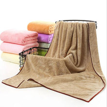 Top Quality Coral Fleece Fabric Bath Towels Adults Soft Quick-Dry Shower Towels for Adults Beach Bath Towel Large Size