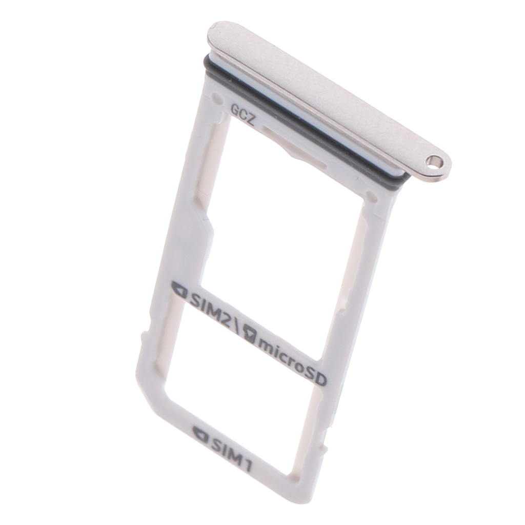 2019 New SIM Micr SD Card Tray Slot Holder Plate Repair Kit for Samsung S8 S8 Plus Card Tray Holder Adapter Accessories in Mobile Phone Flex Cables from Cellphones Telecommunications