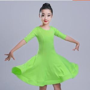 Image 3 - בנות קרנבל ג אז dancewear תלבושות ילדים מודרני סלוניים לטיני מסיבת ריקודי שמלת ריקוד ילד שמלה ללבוש בגדים עבור בנות