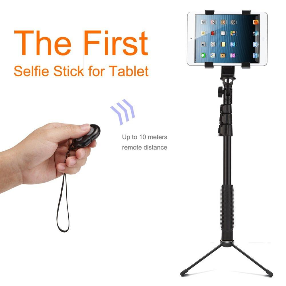 Shutter Bluetooth Remote Control Hot Tablet Selfie Stick