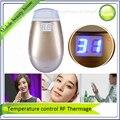 Inteligent Контроля Температуры ЖК-Дисплей Мини-Частичная RF Термаж Лифтинг Кожи Салон Морщинка Устройства Бесплатная Доставка