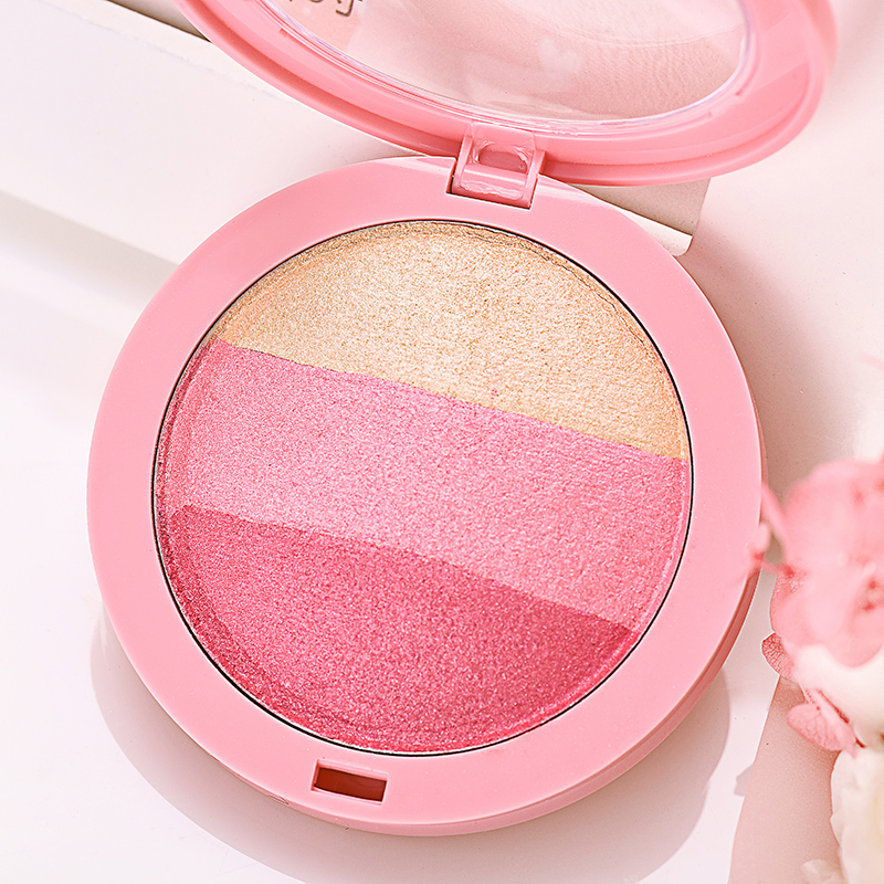 Facial highlighters and pink — img 5