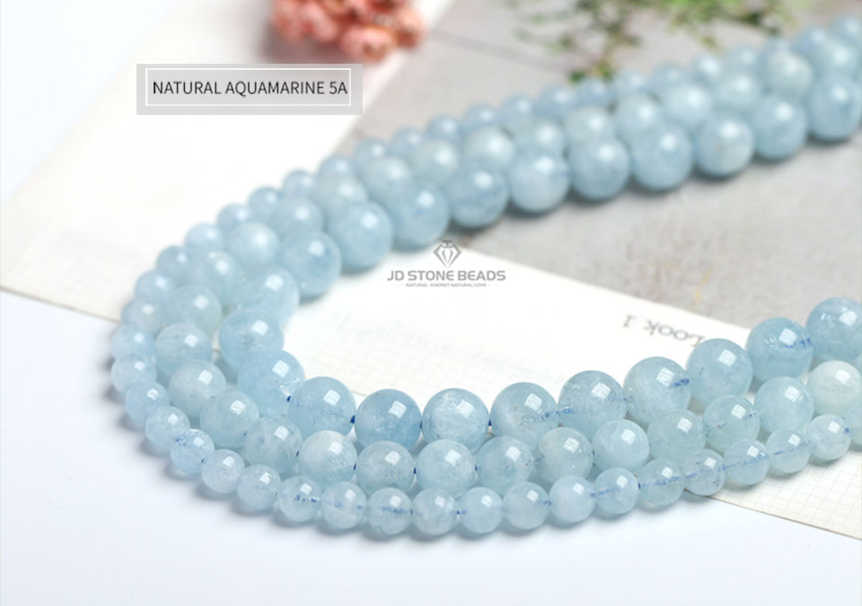 HTB1AaaWXELrK1Rjy0Fjq6zYXFXas 4 6 8 10 12 mm Natural Aquamarine loose Beads Free Shipping Faceted Blue Pick Szie  DIY Accessory Gemstone For Jewelry Making