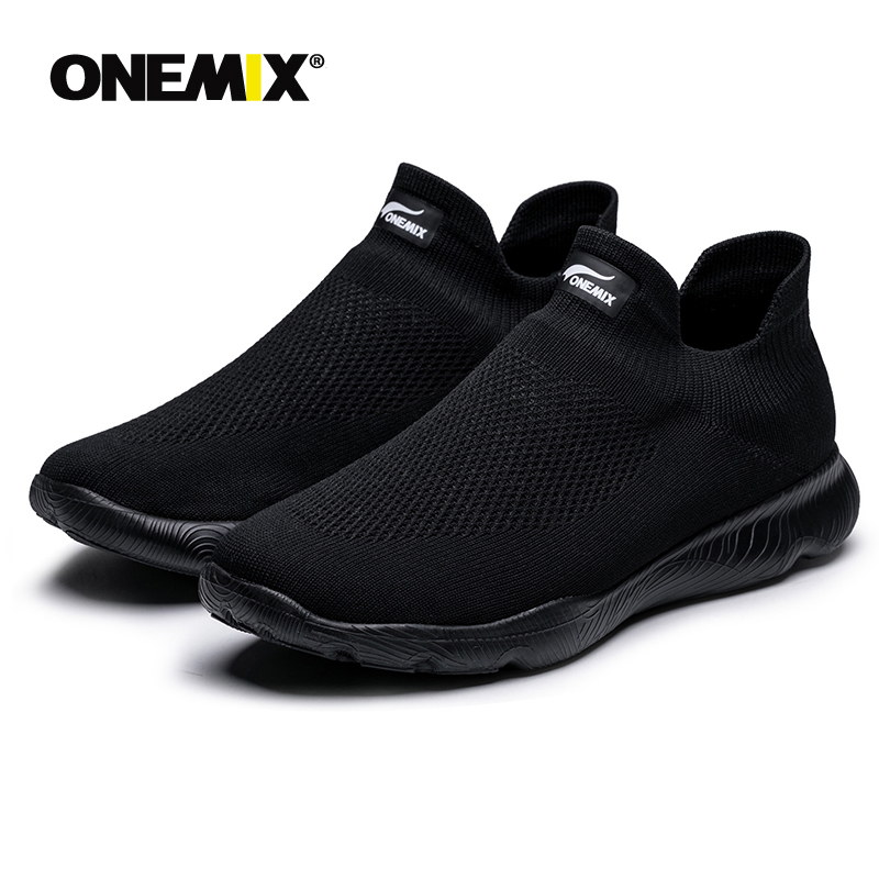 Onemix 2019 Men's Shoe Women Summer Loafer Slipper Sneakers For Couple Outdoor Comfortable Mesh Light Sports Shoes Free Shipping