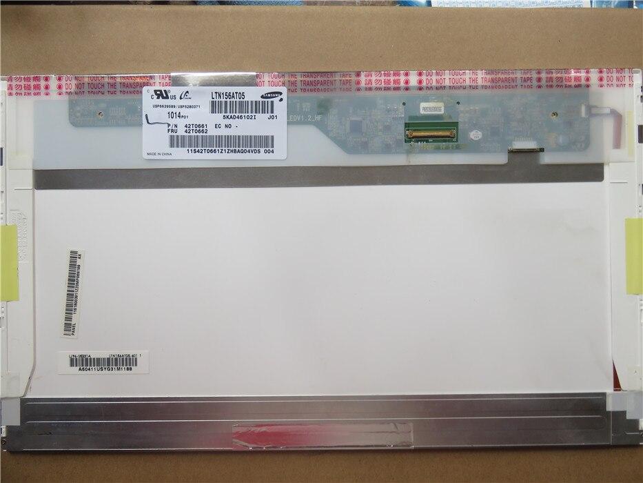 где купить  Hot sell brand new A+ LTN156AT10 for 15.6 inch LED laptop screen 1366*768 40 Pin  дешево