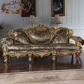 2015 top hot sale classic style living room furniture-hand carved  furniture made in china