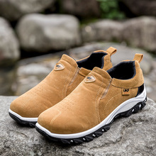 New Men Boots Breathable Men Casual Shoes Sneakers Anti-mite Construction Mans Safety Shoes Male Shoes Adult Work Safety Boot