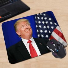 Donald Trump GOP Comics Gaming Mouse Mat Rubber Pad Customized Item Avaliable
