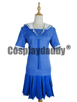 Disfraz Cosplay de mujer Azumanga Daioh, uniforme escolar de verano