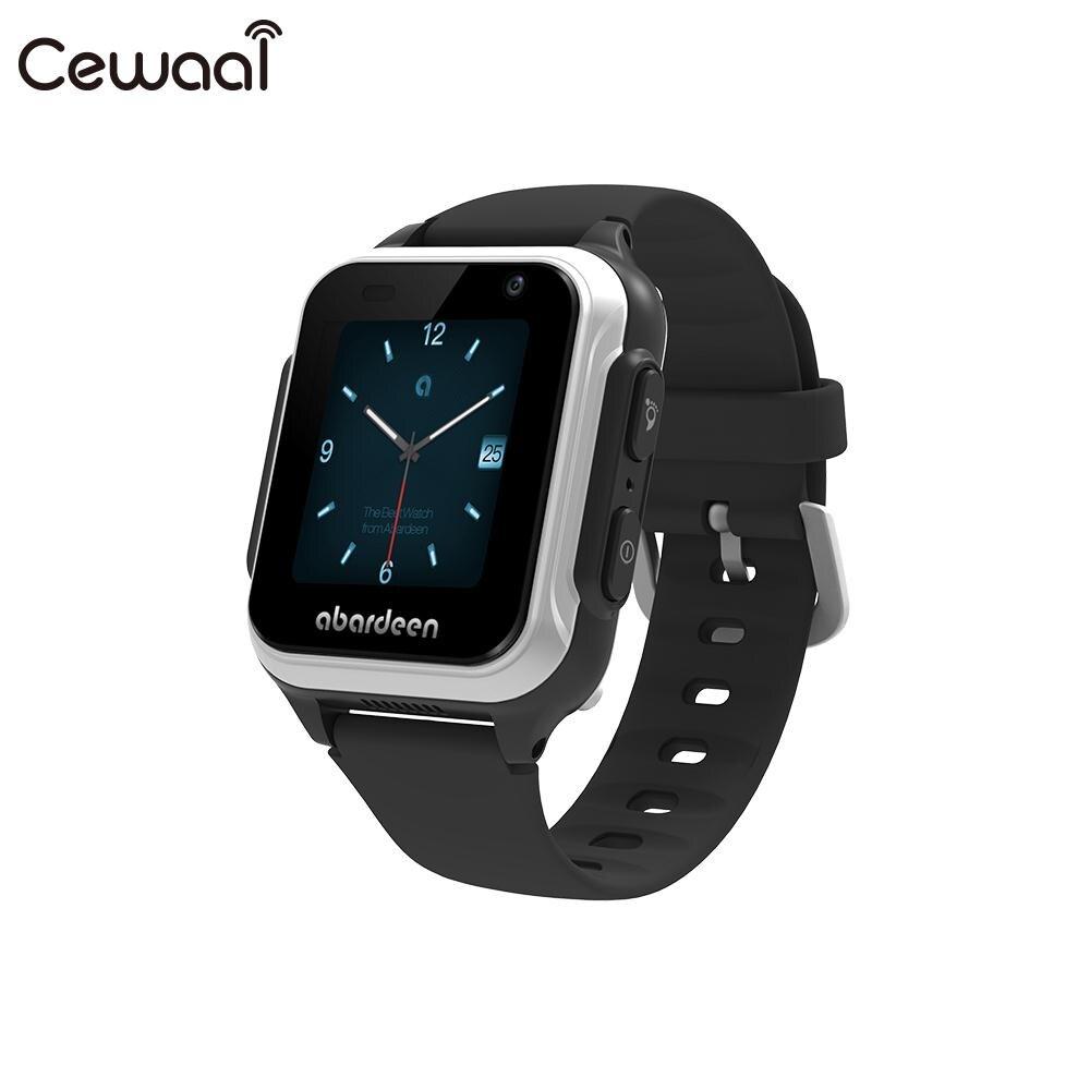 Cewaal 4G Дети Смотреть видео вызова V116 512 МБ + 4G B G Сенсор браслет 4G Смарт часы для Abardeen