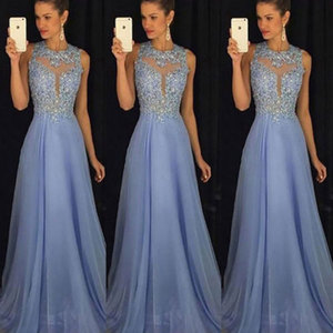 Women Formal Long Lace Dresses Prom Party Wedding Gown Sundr