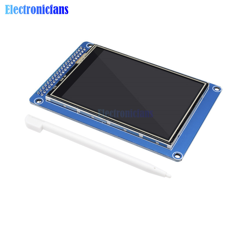 3.2 Inch 240x320 RGB TFT LCD Module Display Than 128x64 LCD ILI9341 Controller 3.3V 16 Bit RGB565 DIY With Touch Panel SD Card
