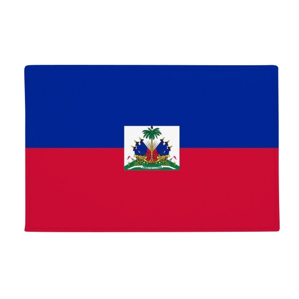 Haiti National Flag North America Country Anti-slip Floor Mat Carpet Bathroom Living Room Kitchen Door 16x30Gift