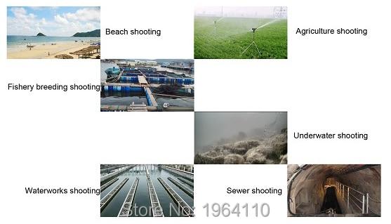 Stainless Steel 1080P Underwater POE IP Network Camera Support Multi-browser Access & Free APP Remote Monitoring IP68 Waterproof_6