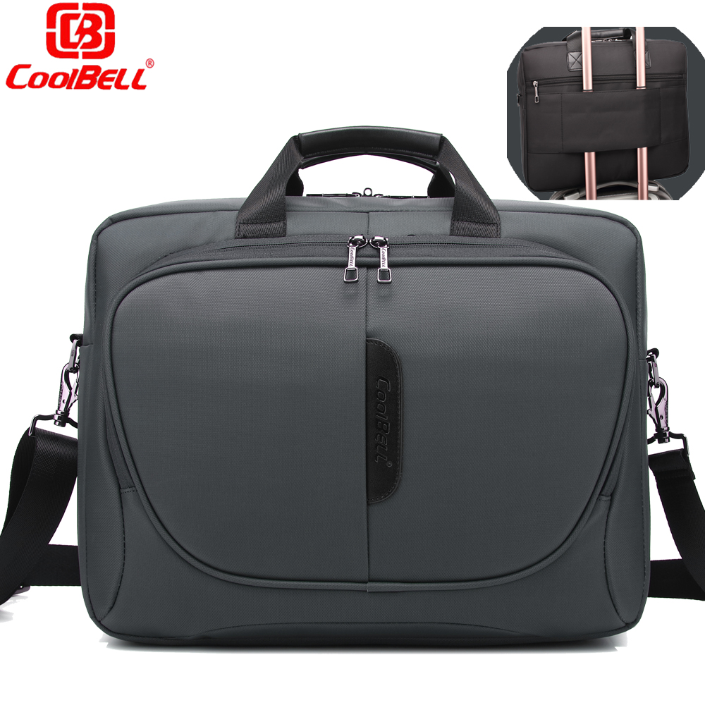 CoolBell Fashion 15.6 inch Laptop Bag 15 Notebook Computer Bag Waterproof Messenger Shoulder Bag Men Women Briefcase Business