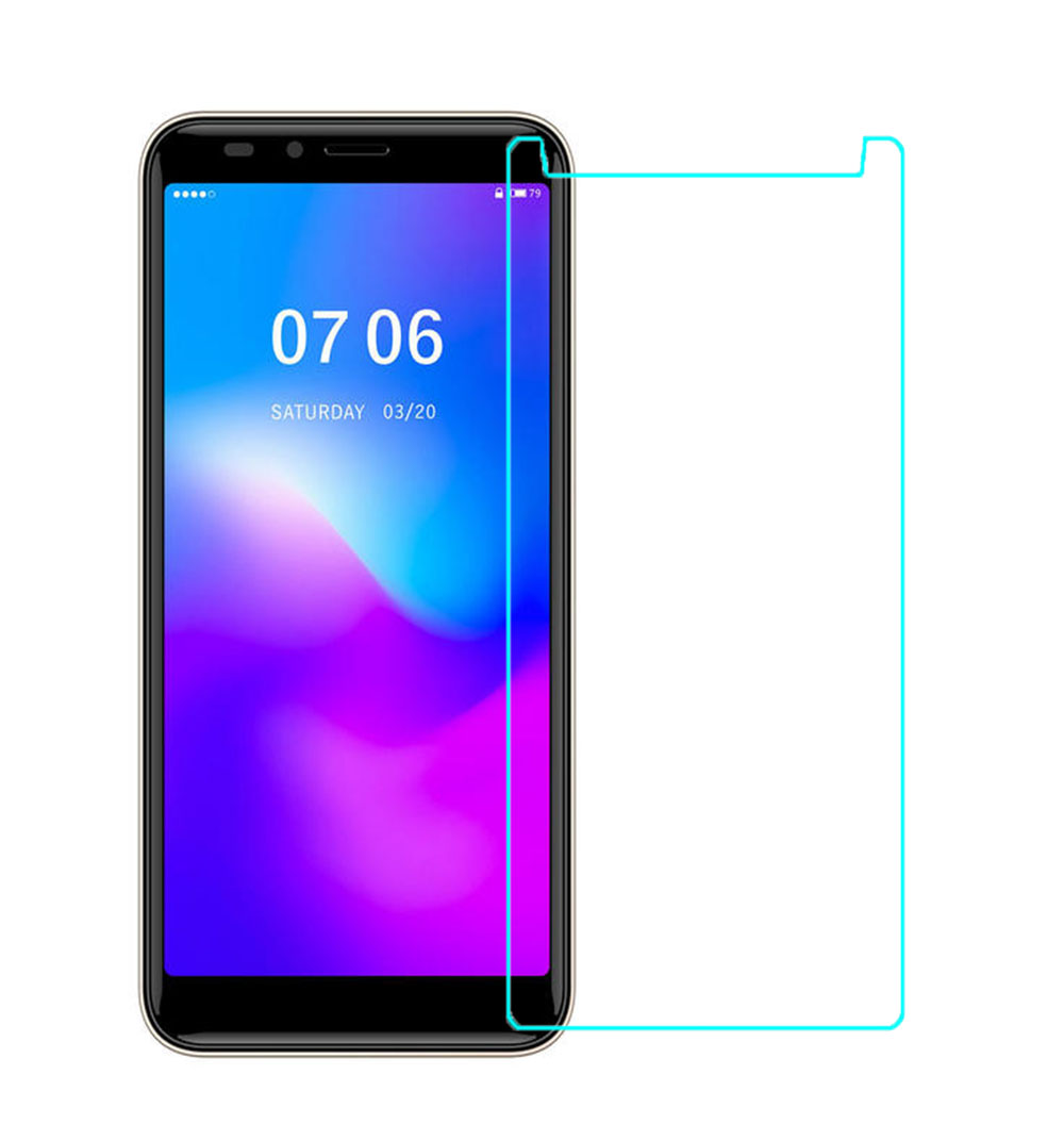 2.5D 0.26mm Ultra Tempered Glass For DEXP G255 GL355 G355 B255 Toughened Screen Protector Film Protective Screen Case Q6