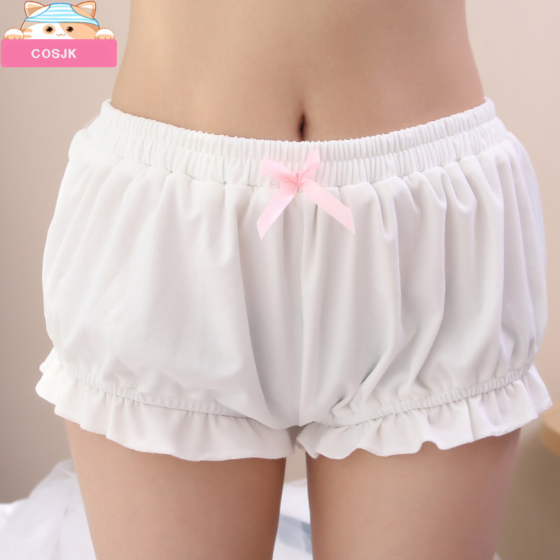 Japanese Kawaii Pumpkin   Shorts   Cute Lolita Girl Ladies Bowknot   Short   Cosplay Women's Bloomers Scanties Summer