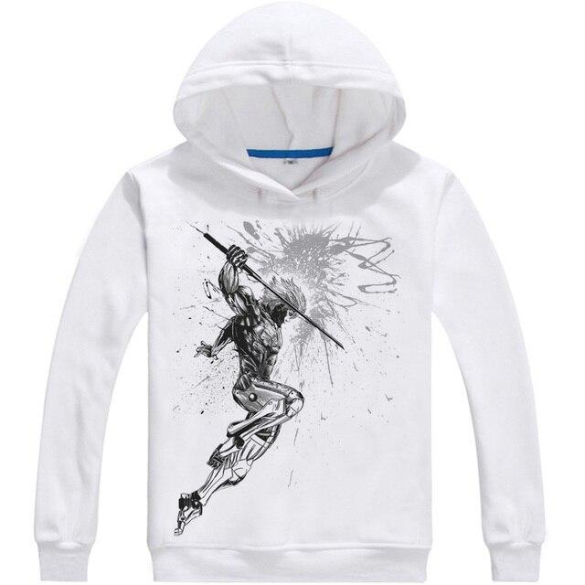 9b5d533daac0 METAL GEAR Hoodies Multi-style Hooded hoodie Kojima Metal Gear Solid Snake  Liquid Snake Raiden BIG BOSS Cosplay Sweatshirts
