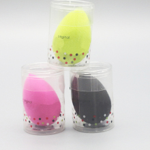 New style Single Retail Packing Beauty Original Egg Shape Latex Free Hydrophilic Makeup Sponge