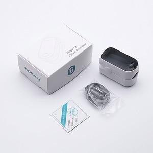 Image 5 - Medical Portable Pulse Oximeter OLED Pulsioximetro blood oxygen Heart Rate Monitor Oximetro Household Health Monitors
