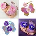 Caliente Atrezzo Fotografia Fotografía Accesorios Bebes Lindo Recién Nacido Venda de La Flor de Mariposa Del Envío del Estilo Animal 13 Colores Disponibles